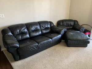Sofa & Chair with ottoman Set for Sale in Colorado Springs, CO