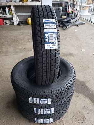 ST205/75/15 Ply Rated Trailer tires! for Sale in Bremerton, WA