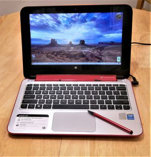 """HP X360 Convertible notebook/tablet 11.6"""" touch screen, combo , Windows 10, 500gb. 4gb memory, Bluetooth. for Sale in Menifee, CA"""