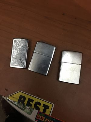 Zippo Lighers (Set of 3) for Sale in Anaheim, CA