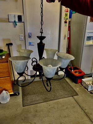 5 bulb chandelier for Sale in Las Vegas, NV