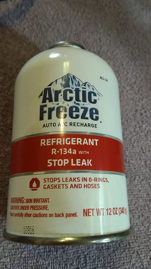Interdynamic AF81 R134A Leak Sealer with Arctic Freeze Air Conditioner Refrigerant for Sale in Fenton, MO