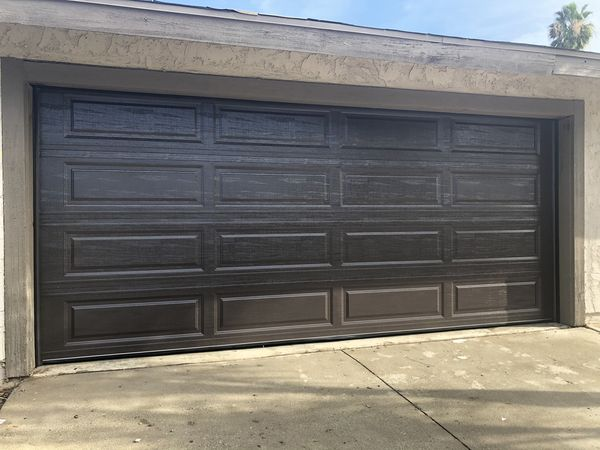Quick garage door