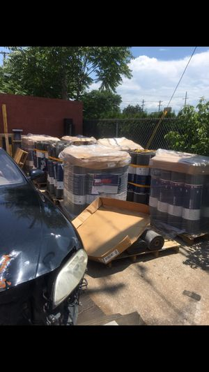 Roofing rolls. Membrane not rubber for Sale in Detroit, MI