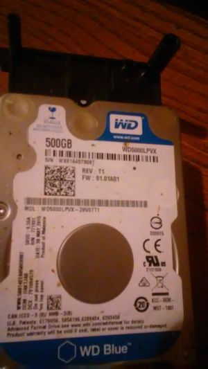 Xbox one 500GB hard drive w/plug for Sale in Cleveland, OH