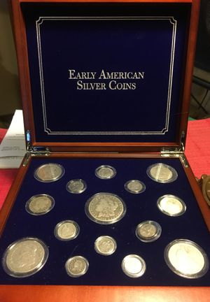 Early American Silver Coins for Sale for sale  Newberg, OR