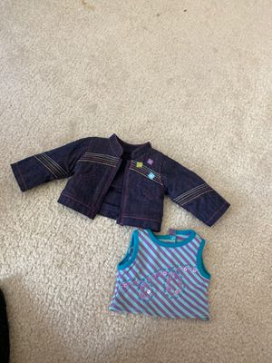 American Girl Doll Jean Jacket & Tank Top! for Sale in Mission Viejo, CA
