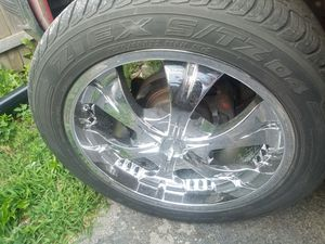 Rims whit tires for Sale in Aurora, IL