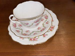 English China Tea Trio, Early Edwardian era. for Sale in Glen Ellyn, IL