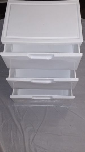 Plastic Slidable Drawers (3) for Sale in Silver Spring, MD