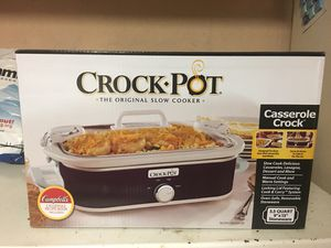 NIB Crock Pot Casserole Crock for Sale in York Haven, PA