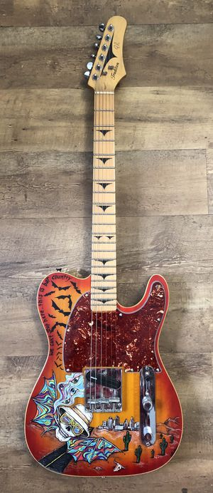 Guitar Handpainted Fear and Loathing in Las Vegas - Telecaster for Sale in Westlake, OH
