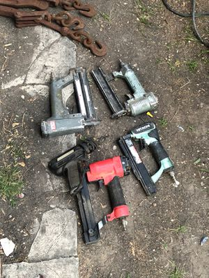 Finish nail guns for Sale in Houston, TX