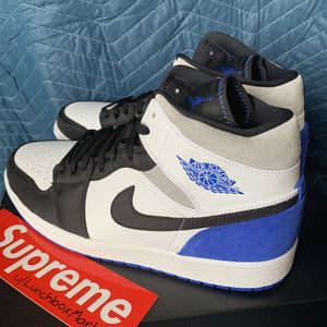 Nike Air Jordan 1 Mid Hyper Royal - Size 13 - Brand New - In Hand for Sale in Franklin, WI