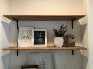 Set of 2 wall shelves for Sale in Norco, CA