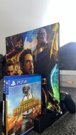 "PS4 Pro TB, Vertical Stand with Dual Fans, 1 Original Controller and 2 Games ""GTA 5 & PUBG"" for Sale in Tampa, FL"