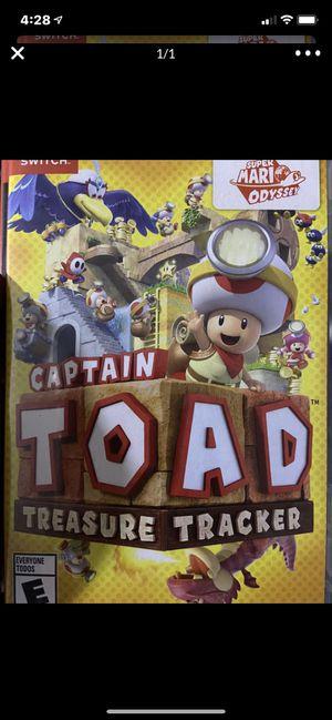 Nintendo switch captain toad for Sale in Murrieta, CA