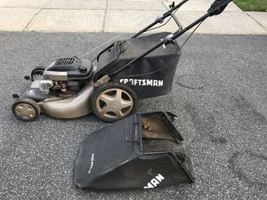 Craftsman Eager-1 6 75 horsepower lawnmower for Sa