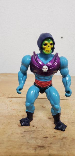 Skeletor 80's He-Man vintage action figure for Sale in Lake Elsinore, CA