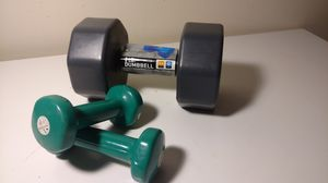 3 piece dumbbell weight set for Sale in Columbus, OH