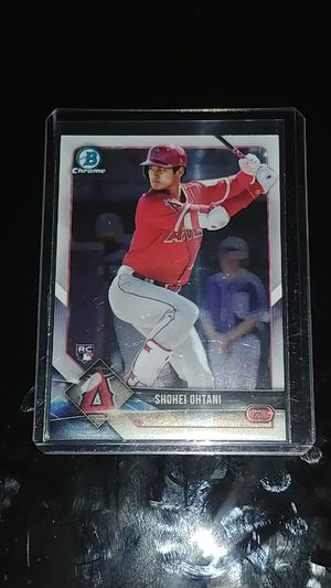 2018 Bowman Chrome Shohei Ohtani RC Baseball Card #1 for Sale in Whittier, CA