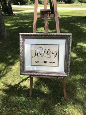 Wedding frame for Sale in Pine River, MN