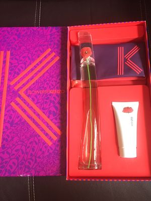 100 % authentic KENZO FLOWER PERFUME FOR WOMEN 3.4OZ (100ML). ORIGINAL USED IN THE BOX for Sale in Miramar, FL