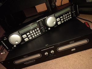 American Audio DCD-PRO310 Pro Dual CD Player for Sale in Denver, CO
