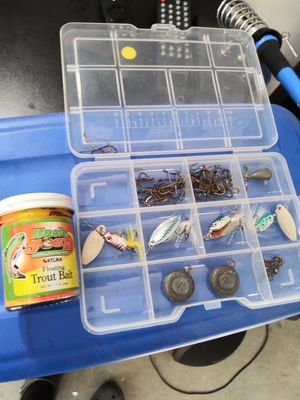 Trout fishing lures & hooks for Sale in Sanger, CA