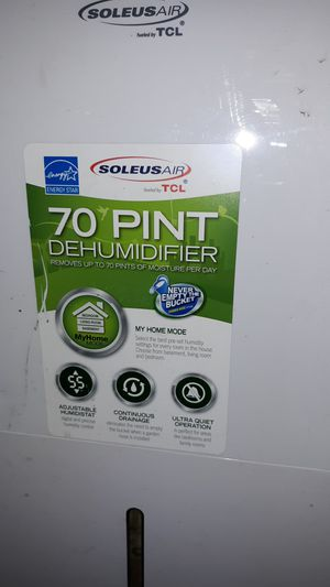 dehumidifier for Sale in Spring, TX