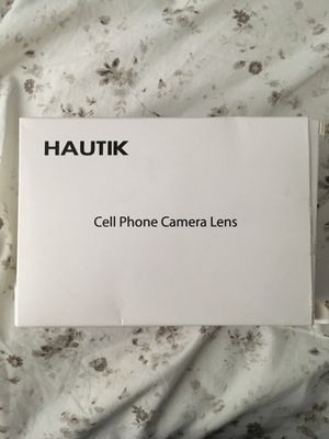 Cell Phone Camera Lens for Sale in El Cajon, CA