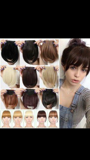 Halo Hair Extension + Bangs NEW for Sale in Van Buren, AR