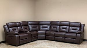 New Power Reclining sectional for Sale in Puyallup, WA