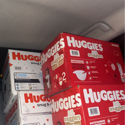 Huggies Diapers Size 2 for Sale in Vancouver,  WA