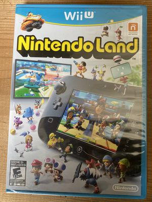 Wii U Nintendo land NEW UNOPENED for Sale in Schaumburg, IL