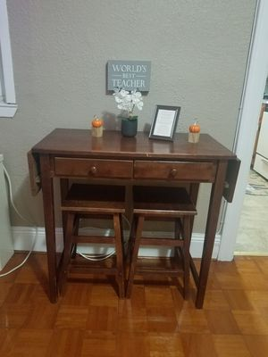 Breakfast bar and stools for Sale in Queens, NY