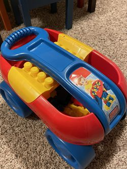 Mega Blocks Set With Wagon for Sale in Bothell,  WA