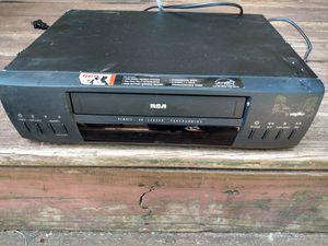Rca vhs vcr player black for Sale in College Park, GA