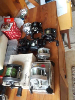 Fishing low profile reels for Sale in Vancouver, WA