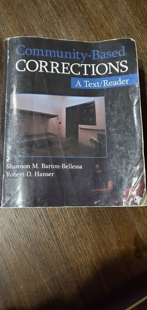 Community-Based Corrections A Text/Reader for Sale in Wood Village, OR