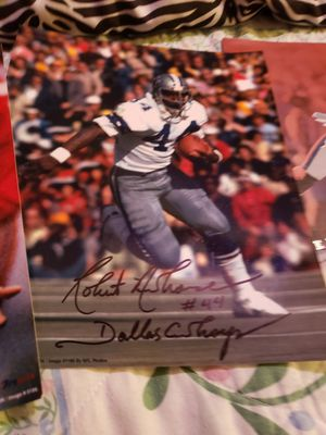 NFL DALLAS COWBOYS Autographed photo for Sale in Hewitt, TX
