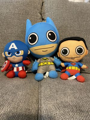Plush characters for Sale in Houston, TX