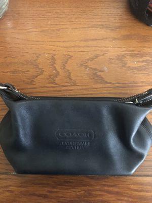 Coach Clutch Purse - Black Leather for Sale in Lakeland, FL