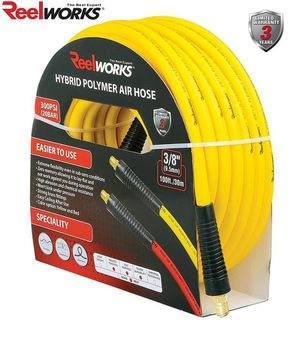 New - ReelWorks 19143001A Hybrid 100' Flexible Air Compressor Hose for Sale in Renton, WA