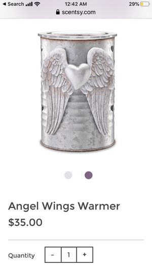 Scentsy Angel Wings Wax Candle Warmer for Sale in Vincennes, IN