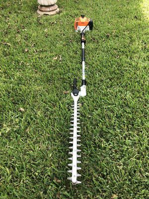 Stihl HL94 Articulating Swivel Hedge Trimmer Very Powerful for Sale in Houston, TX