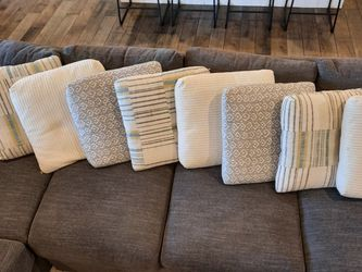 Down Feather Pillows For A Couch Sofa for Sale in Phoenix,  AZ