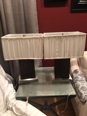 Two table lamps with shades included. for Sale in Land O Lakes, FL