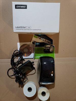 Dymo labelwriter 450 label printer and 4 labelwriter rolls for Sale in Wexford, PA