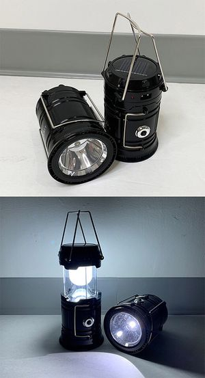 NEW $10 Solar Camping Lantern Light (2 pack) for Sale in Downey, CA